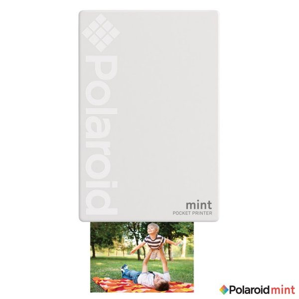 Фотопринтер Polaroid MINT - WHITE POLMP02W , ZINK Zero Ink технология