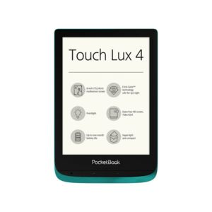 Електронна книга PocketBook PB627 TOUCH LUX 4 EMERALD , 1 GHz , 512MB , 6.00000 , 8 GB
