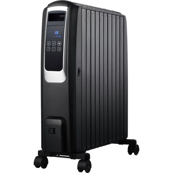 Маслен радиатор Finlux FR-1025T BL
