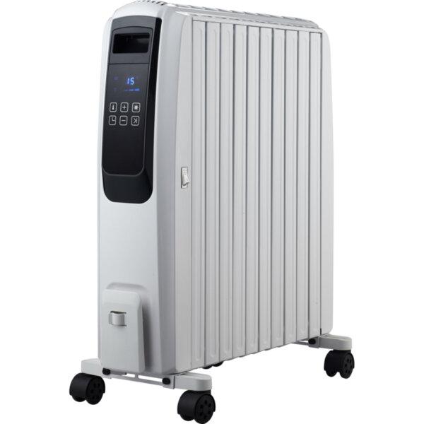 Маслен радиатор Finlux FR-1025T WH