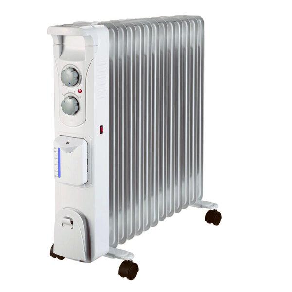 Маслен радиатор Finlux FR-1325H WH