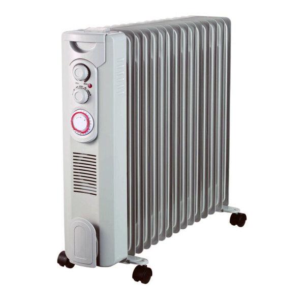 Маслен радиатор Finlux FR-1529FT WH