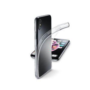 Калъф за смартфон Cellularline FINE iPhone Xs MAX ПРОЗРАЧЕН