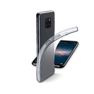 Калъф за смартфон Cellularline FINE HUAWEI Mate 20 PRO ПРОЗРАЧЕН