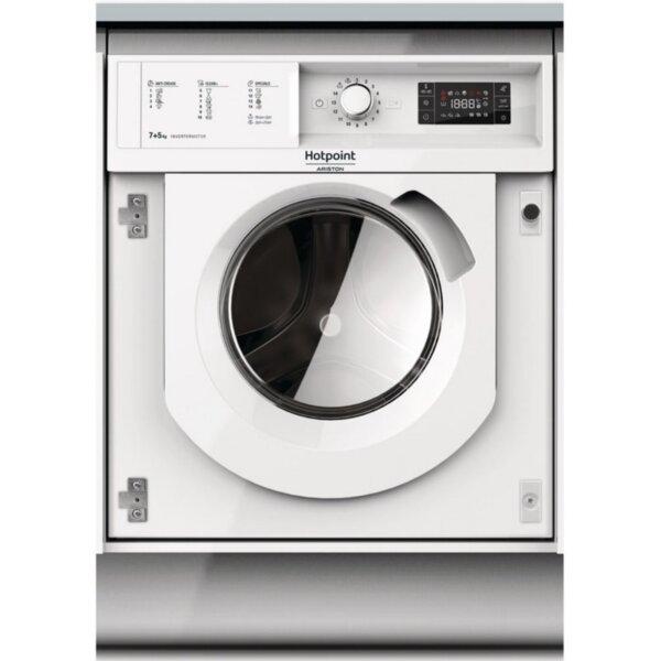 Вградена пералня Hotpoint-Ariston BI WDHG 75148*** , B , Бял