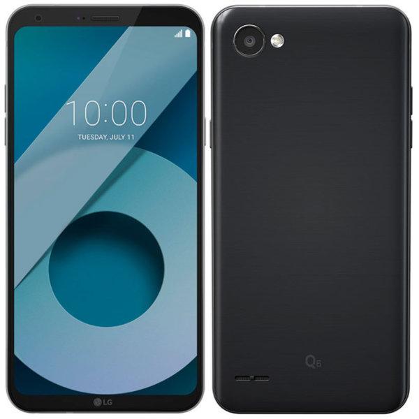 Мобилен телефон LG Q6 BLACK