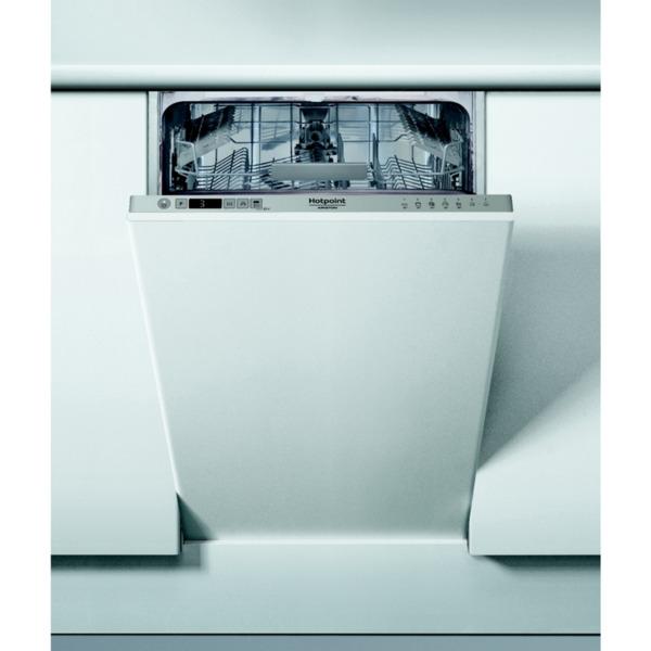 Съдомиялна машина за вграждане Hotpoint-Ariston HSIC 3M19. , 10 комплекта, 450 Ш, мм, F