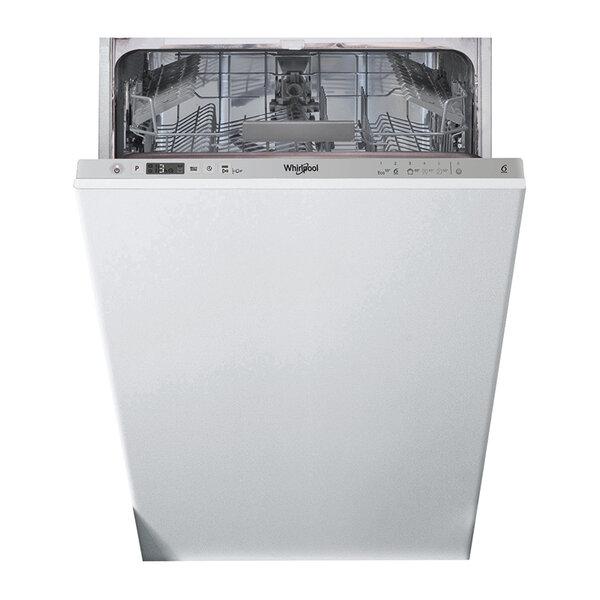Съдомиялна машина за вграждане Whirlpool WSIC 3M17 , 10 комплекта, 450 Ш, мм, A+