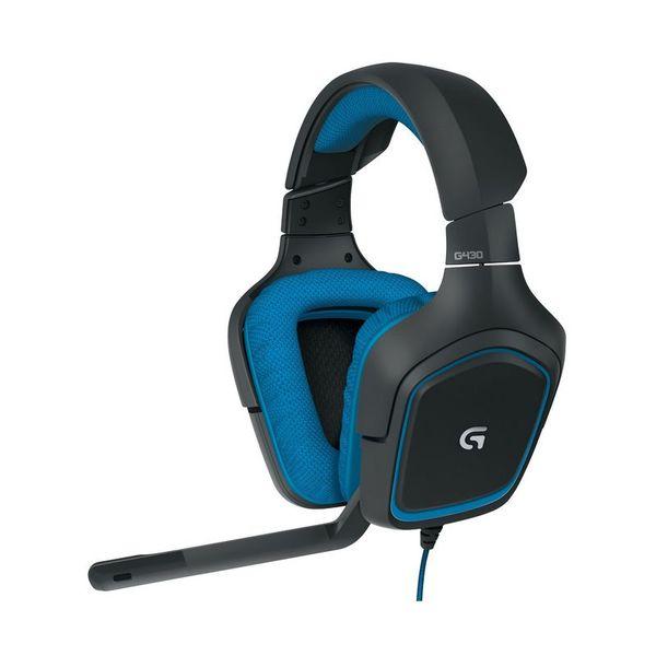 Слушалки с микрофон Logitech G430 BLUE 981-000537
