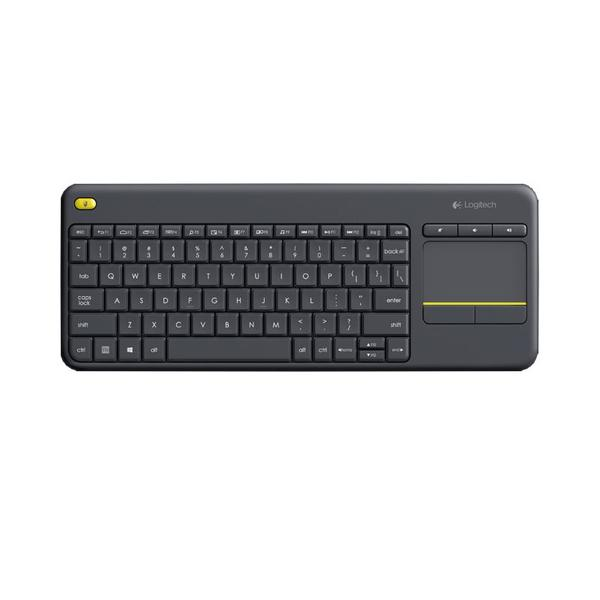Клавиатура Logitech K400 PLUS BLACK TOUCH 920-007145