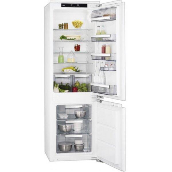 Вграден хладилник с фризер AEG SCE81811LC(ST) *** , 258 l, A+