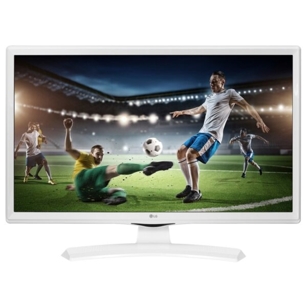 Монитор с ТВ тунер LG 24TK410V-WZ , 1366x768 HD Ready , 24 inch, 60 см, LED LCD , Не