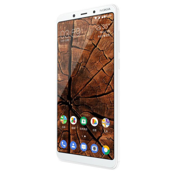 Мобилен телефон Nokia 3.1 PLUS DS WHITE