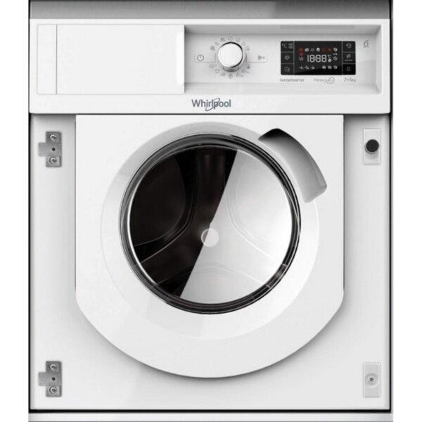 Вградена пералня Whirlpool BI WDWG 75148 EU , B , Бял