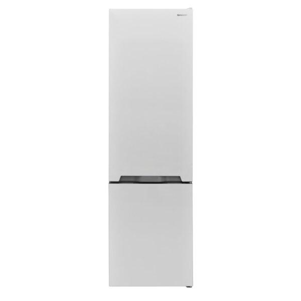 Хладилник с фризер Sharp SJ-BB05DTXW1** , 286 l, A+ , Бял , Статична
