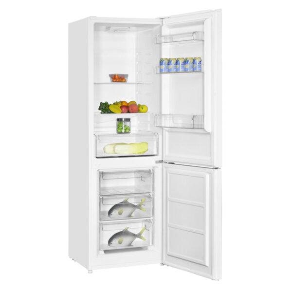 Хладилник с фризер Crown CBR-312W , 315 l, F , Бял , Статична