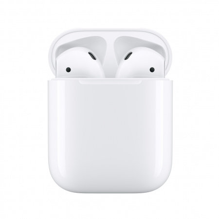 Слушалки с микрофон Apple Airpods 2 MV7N2