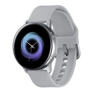 Смарт часовник Samsung GALAXY WATCH ACTIVE SILVER R500NZS 40 MM , 1.10 , DUAL CORE