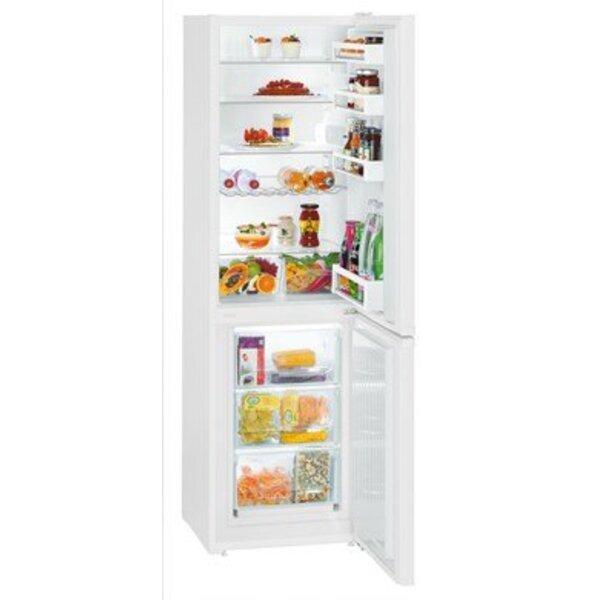 Хладилник с фризер Liebherr CU 3331*** , 296 l, F , Бял , Статична