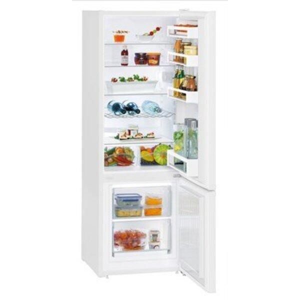Хладилник с фризер Liebherr CU 2831-20 , 265 l, A++ , Бял , Статична