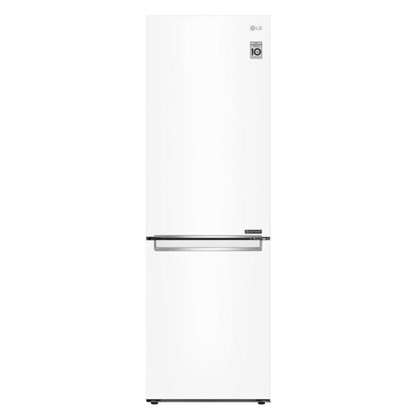 Хладилник с фризер LG GBP31SWLZN , 341 l, E , No Frost , Бял