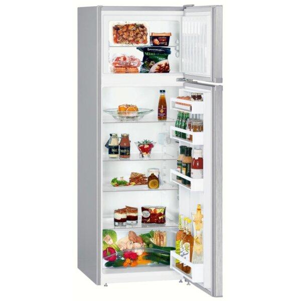 Хладилник с горна камера Liebherr CTEL 2931-20*** , 270 l, A++ , Инокс , Статична