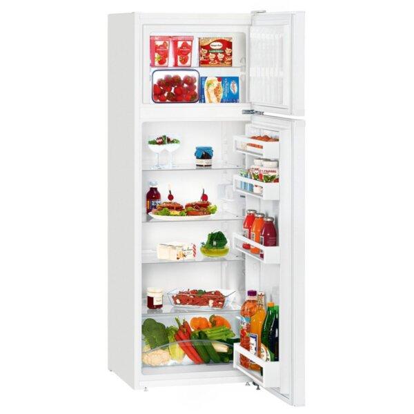 Хладилник с горна камера Liebherr CT 2931-20 , 270 l, A++ , Бял , Статична