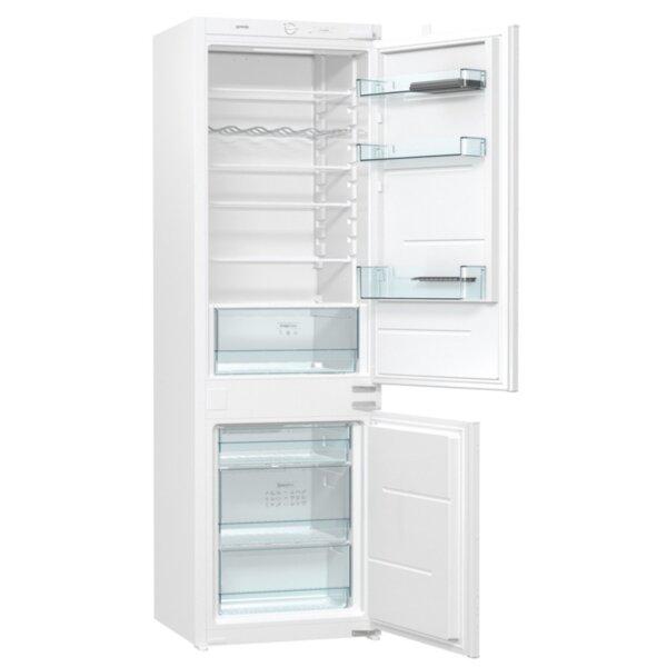 Вграден хладилник с фризер Gorenje RKI4181E1 *** , 260 l, A+ , Бял , Статична