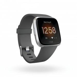 Смарт часовник Fitbit VERSA LITE CHARCOAL/SILVER FB415SRGY
