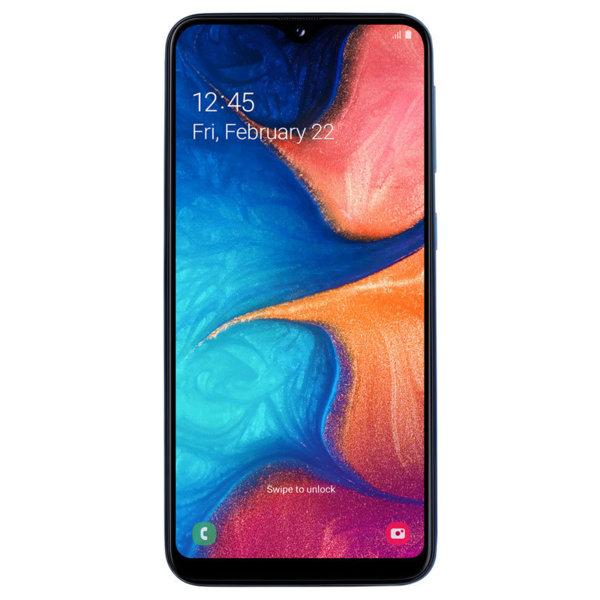 Мобилен телефон Samsung SM-A202FZBD GALAXY A20E DS BLUE