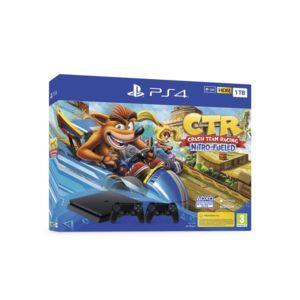 Конзола Sony PS4 1TB SLIM + DS4 V2 + Crash Team Racing