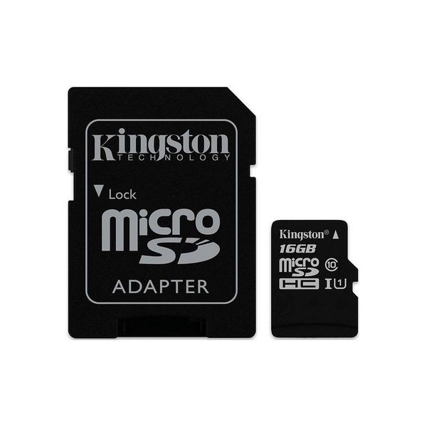 Карта памет Kingston MICRO SD 16GB CLASS 10 UHS-I  CANVAS SELECT
