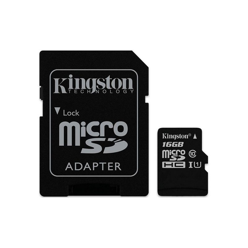 Карта памет Kingston MICRO SD 16GB CLASS 10 UHS-I  CANVAS SELECT