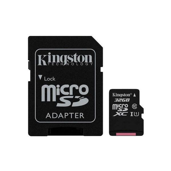 Карта памет Kingston MICRO SD 32GB CLASS 10 UHS-I  CANVAS SELECT
