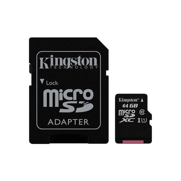 Карта памет Kingston MICRO SD 64GB CLASS 10 UHS-I  CANVAS SELECT