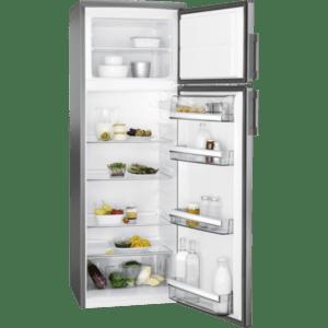 Хладилник с горна камера AEG RDB72721AX R , 259 l, A++ , Инокс , Статична