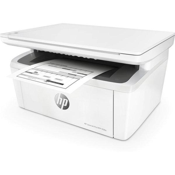 Принтер със скенер HP LASERJET PRO M28A W2G54A 3 IN 1 , Лазерен