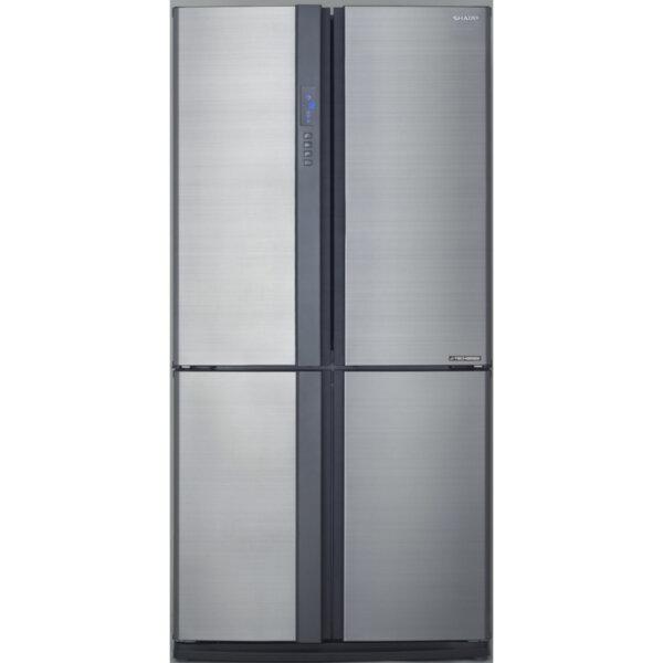 Хладилник с фризер Sharp SJEX820FSL , 605 l, A++