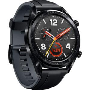 Смарт часовник Huawei WATCH GT FTN-B19S SILICONE SPORT STRAP BLACK , 1.39