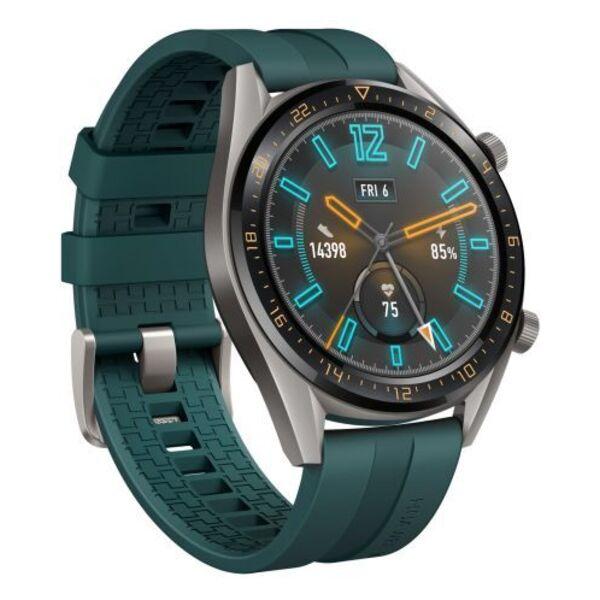 Смарт часовник Huawei WATCH GT FTN-B19I DARK GREEN LEATHER STRAP INDIGO , 1.39