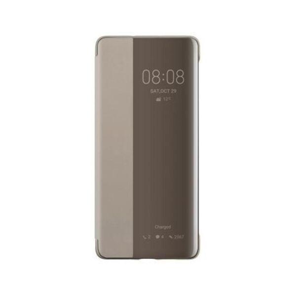 Калъф за смартфон Huawei VOGUE P30 PRO SMART VIEW FLIP COVER KHAKI