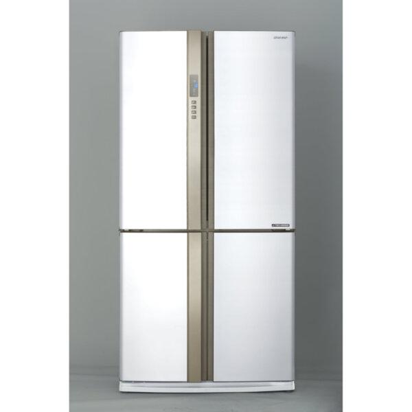 Хладилник с фризер Sharp SJEX820FWH , 605 l, A++