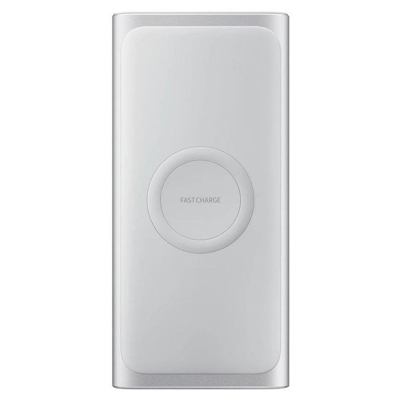 Външна батерия Samsung WIRELESS BATTERY PACK 10000 mAh SILVER