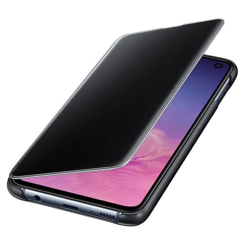 Калъф за смартфон Samsung S10Е VIEW EF-ZG970CBEGWW BLACK