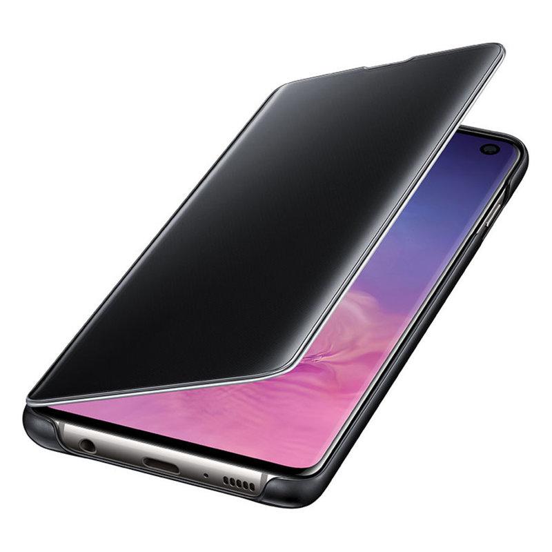 Калъф за смартфон Samsung S10 VIEW EF-ZG973CBEGWW BLACK