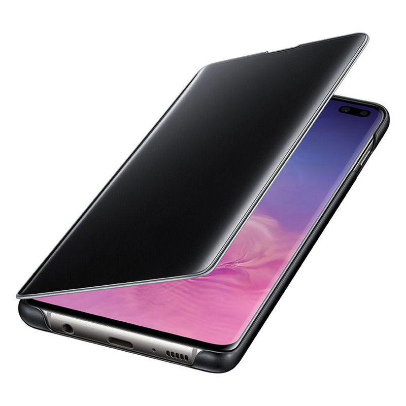 Калъф за смартфон Samsung S10+ VIEW EF-ZG975CBEGWW BLACK