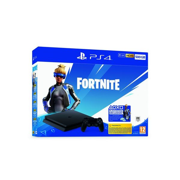 Конзола Sony PS4 500GB + FORTNITE VCH 2019