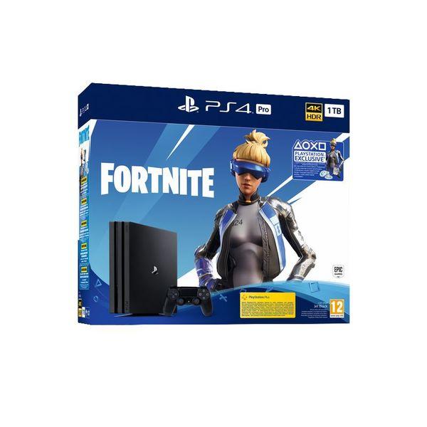 Конзола Sony PS4 1TB PRO + FORTNITE VCH 2019