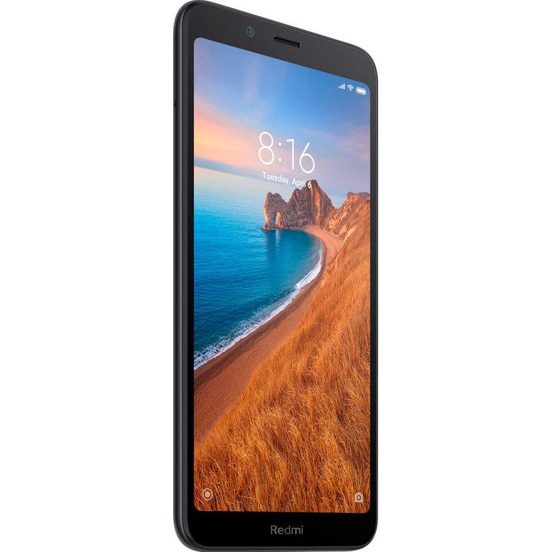 Мобилен телефон Xiaomi REDMI 7A 16/2 DS BLACK MZB7806EU