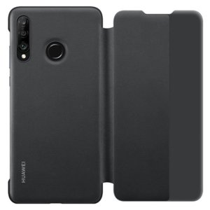 Калъф за смартфон Huawei P30 LITE MARIE VIEW COVER BLACK
